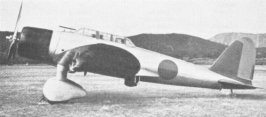 Second prototype of the Aichi D3A Val