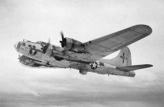 B-17 Flying Fortress long range heavy bomber