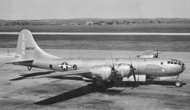 B-29 Superfortress at the flying gas station
