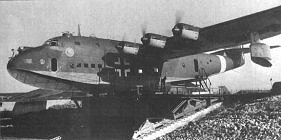 The BV 222 as a German flying boat