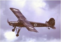 Fieseler 156 Storch three seat liaison, observation and rescue aircraft