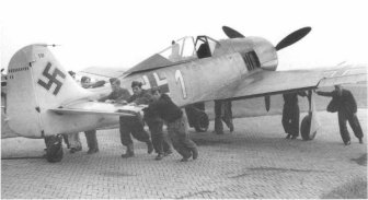 Stripdown time of the Focke Wulf Fw 190A