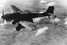 Junkers Ju 87 as attack aircraft
